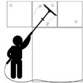 commercial window cleaning icon